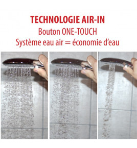 Douchette AIR TOUCH 2 jets