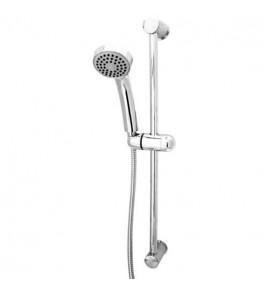 Ensemble barre de douche avec douchette TRITON 1 jet pluie