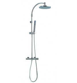 Colonne de douche avec combiné thermostatique mitigeur