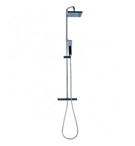 Colonne de douche avec mitigeur tête carrée HERA
