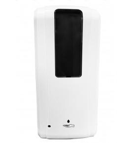 Distributeur automatique de gel hydroalcoolique et savon - 1 L - mural